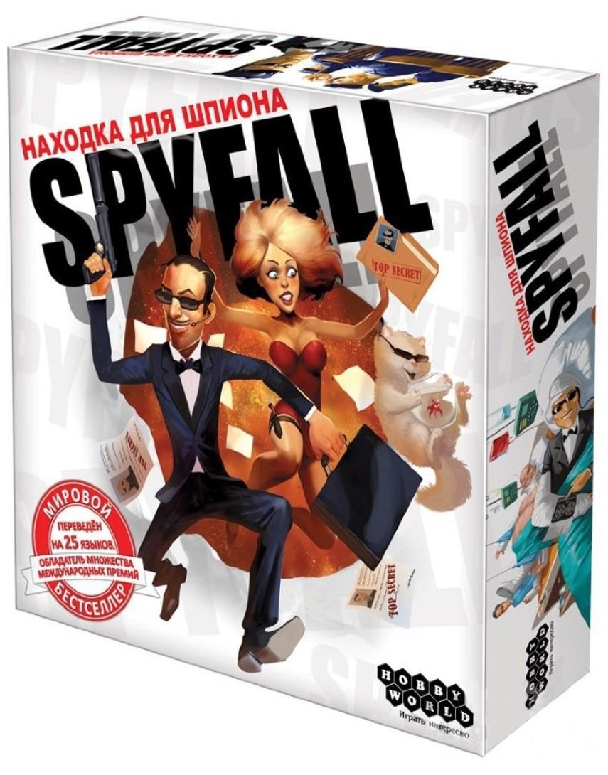 Находка для Шпиона Spyfall