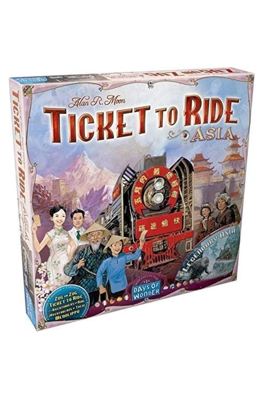 Ticket to Ride Азия (Дополнение)