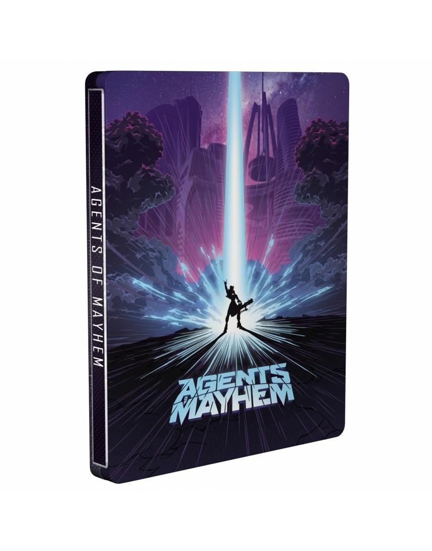 Agents of Mayhem SteelBook [PS4]