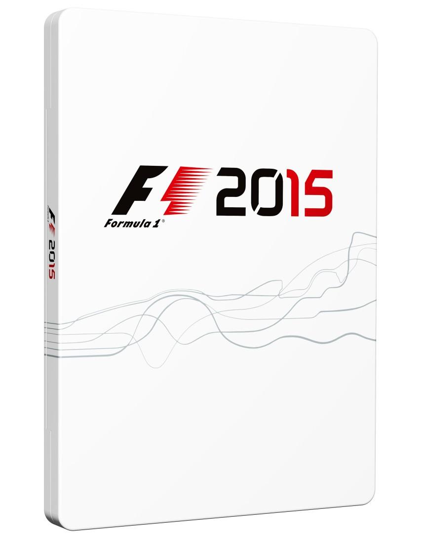 F1 2015 SteelBook (Без Игры)