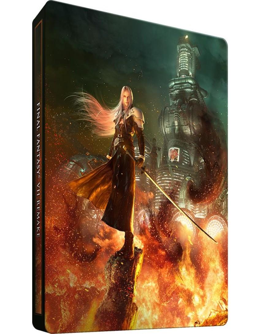 Final Fantasy 7 Remake SteelBook (Без Игры)