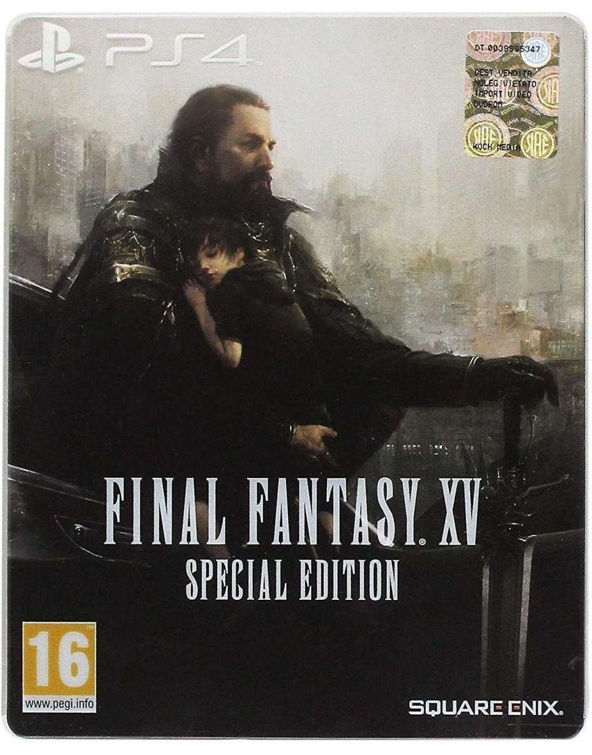 Final Fantasy 15 Special Edition SteelBook [PS4]