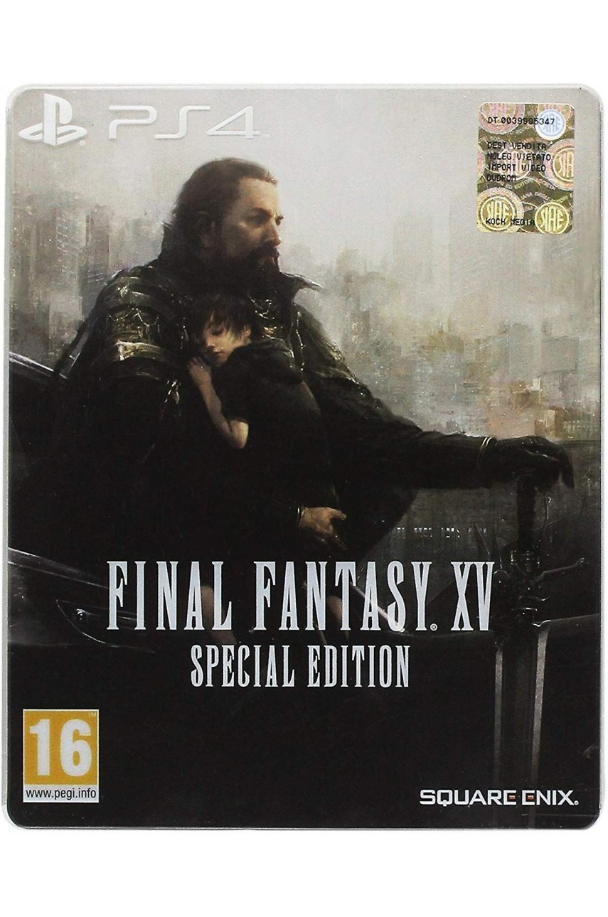 Final Fantasy 15 Special Edition SteelBook [PS4]