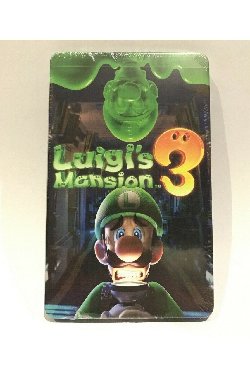 Luigi's Mansion 3 SteelBook (Без Игры)