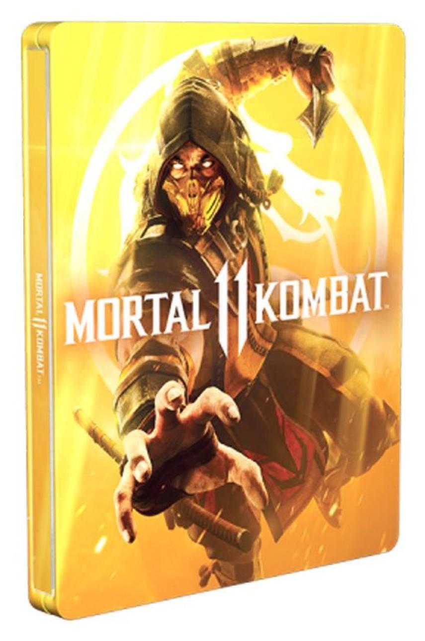Mortal Kombat 11 SteelBook (Без Игры)