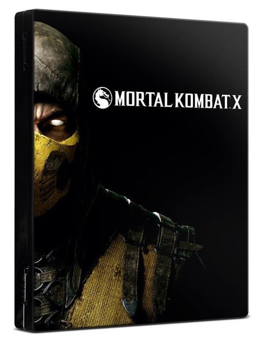 Mortal Kombat X Steelbook [PS4]