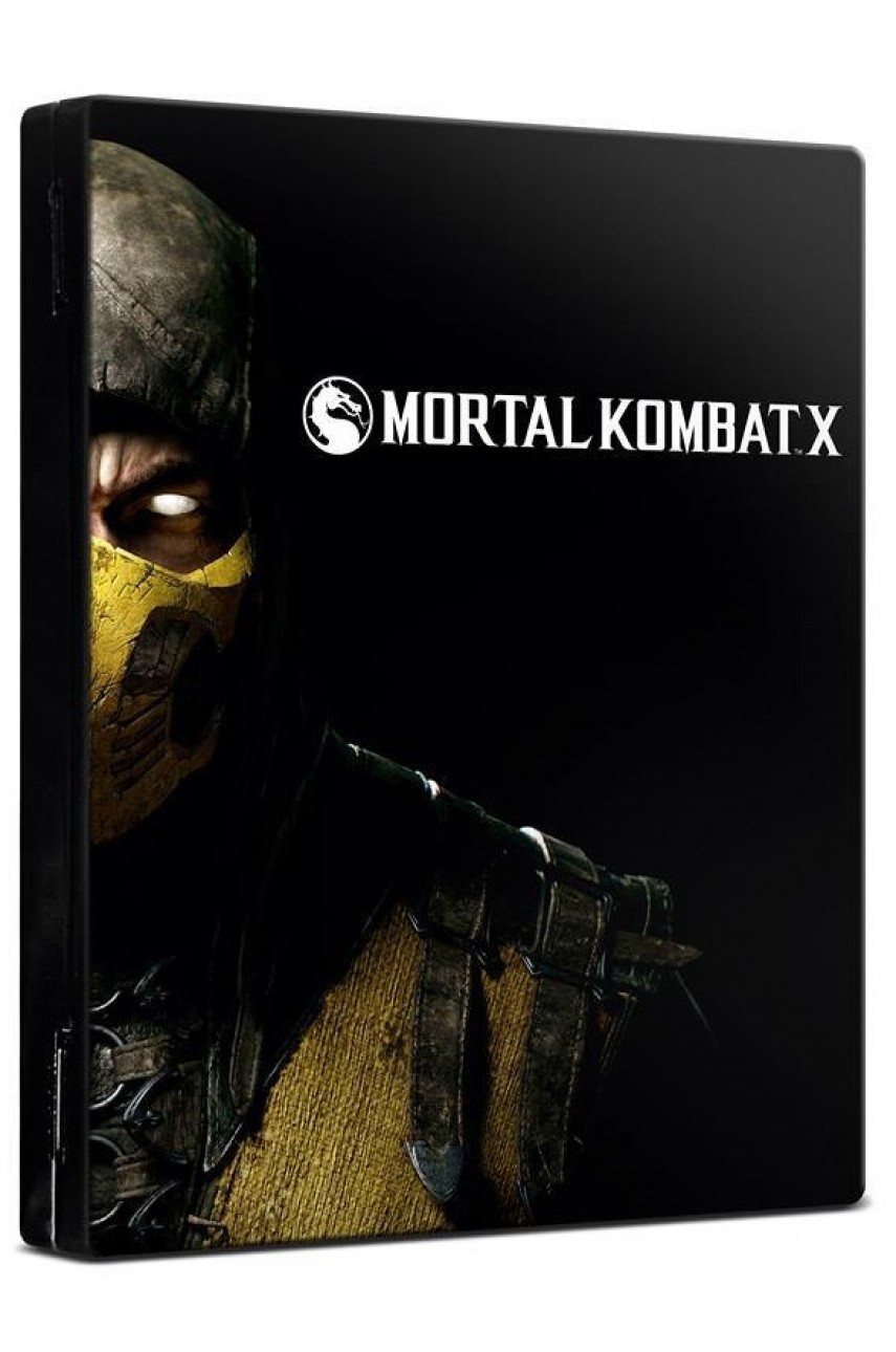 Mortal Kombat X Steelbook [PS4]