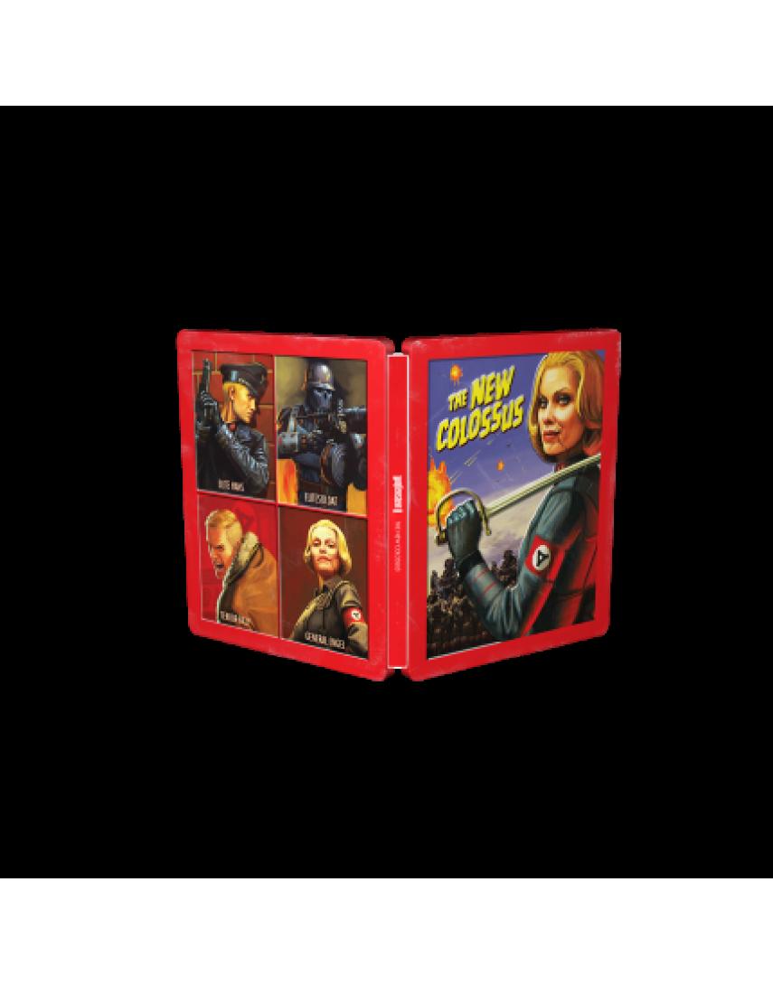 Wolfenstein 2 The New Colossus Steelbook [PS4]