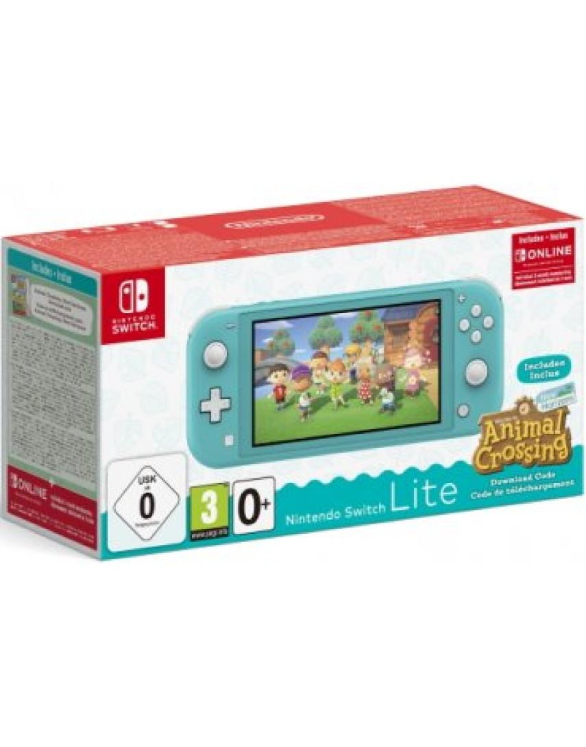 Игровая консоль Nintendo Switch Lite 32GB Бирюзовый + Animal Crossing + NSO 3 месяца