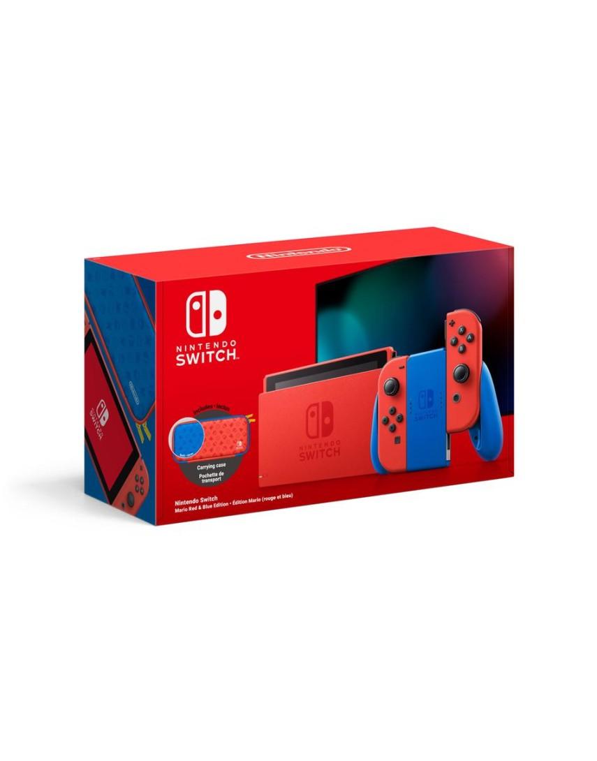 Игровая консоль Nintendo Switch 32GB Mario Red & Blue Edition (NEW)
