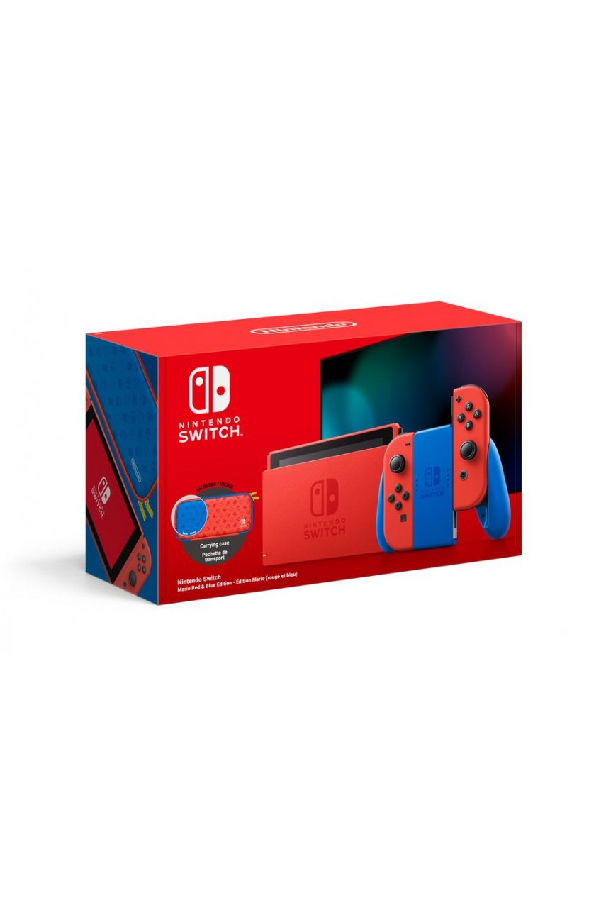 Игровая консоль Nintendo Switch 32GB Mario Red & Blue Edition (Б/У)