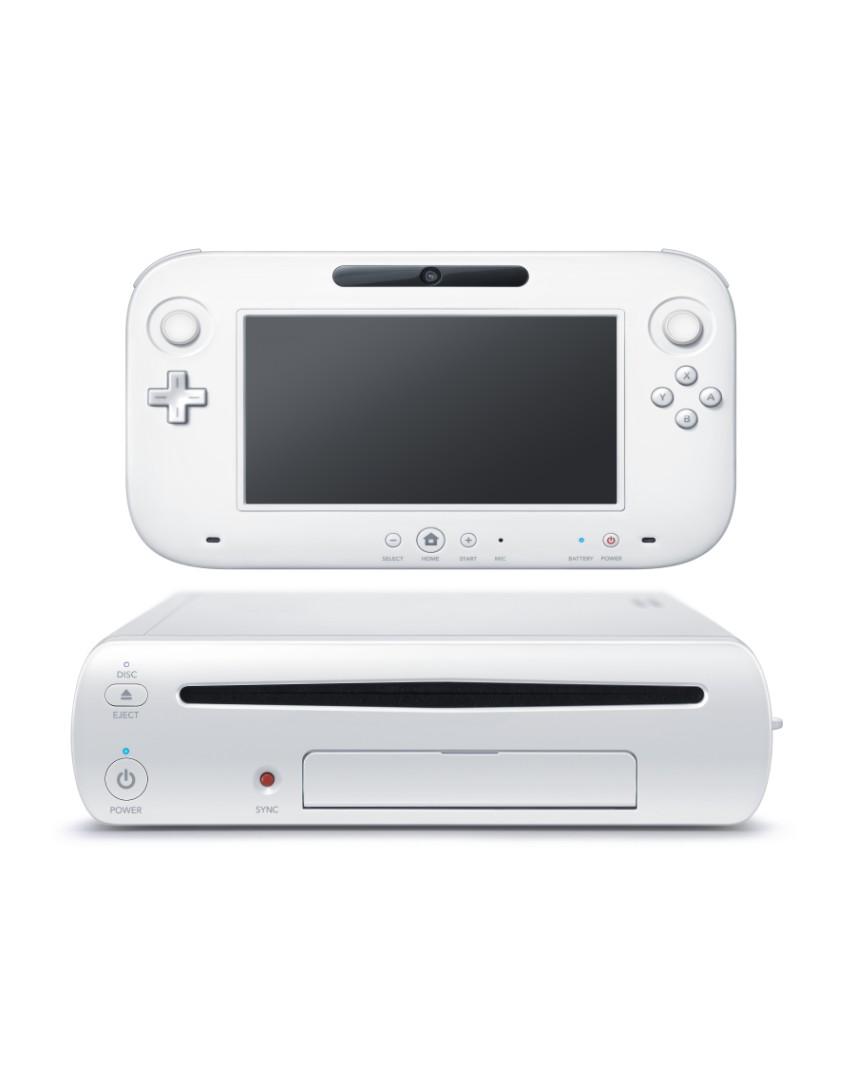 Игровая консоль Nintendo Wii U White 8GB (Б/У)