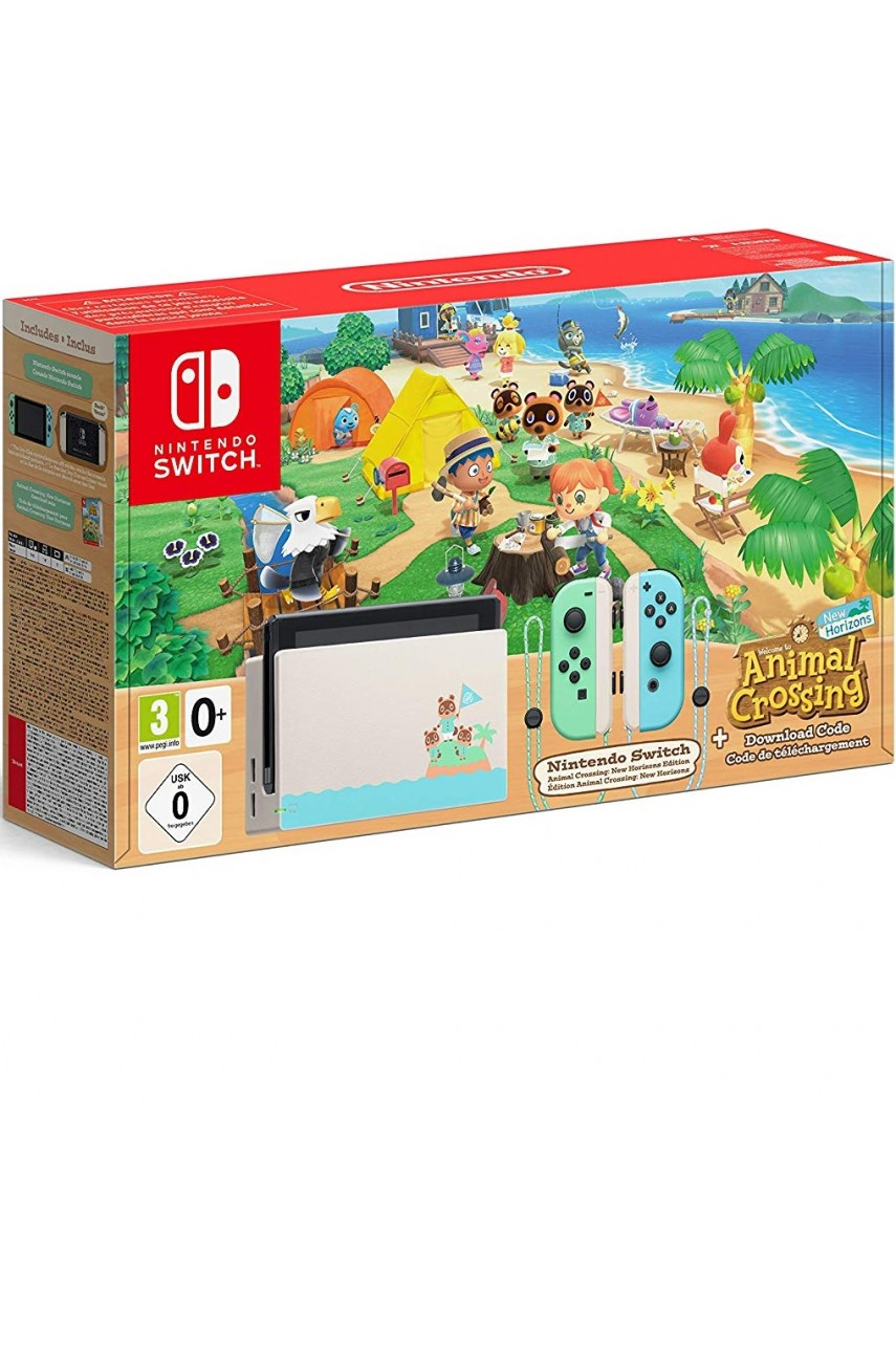 Игровая консоль Nintendo Switch 32GB Animal Crossing Edition (NEW)