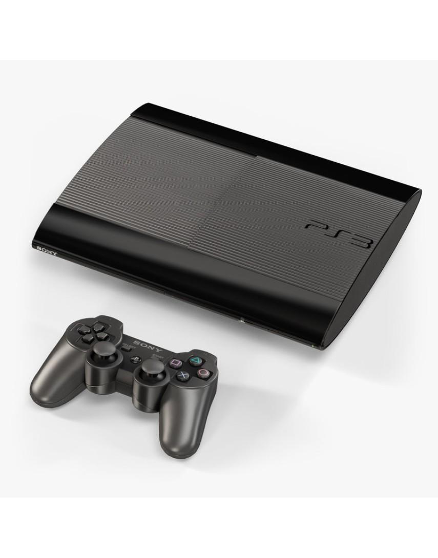 Игровая консоль Playstation 3 Super Slim 12GB (Б/У)