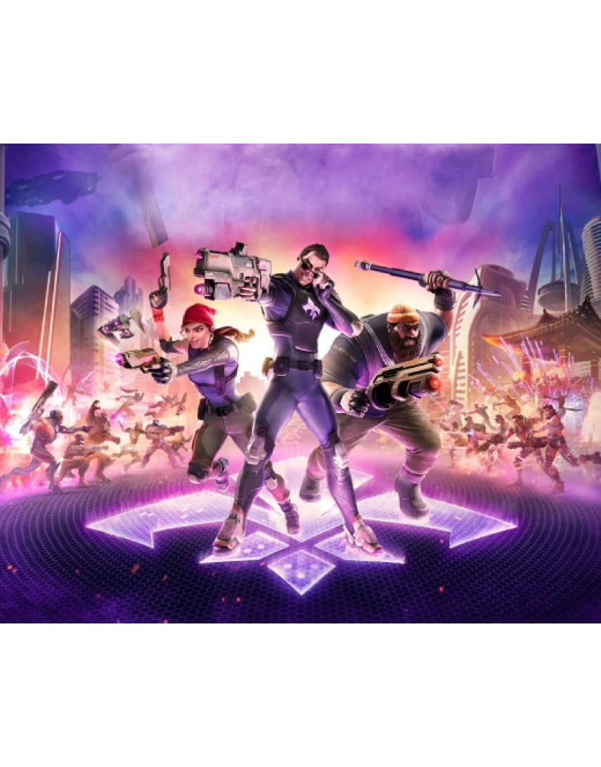 Agents of Mayhem Retail Edition [PS4] (Доп. Контент)