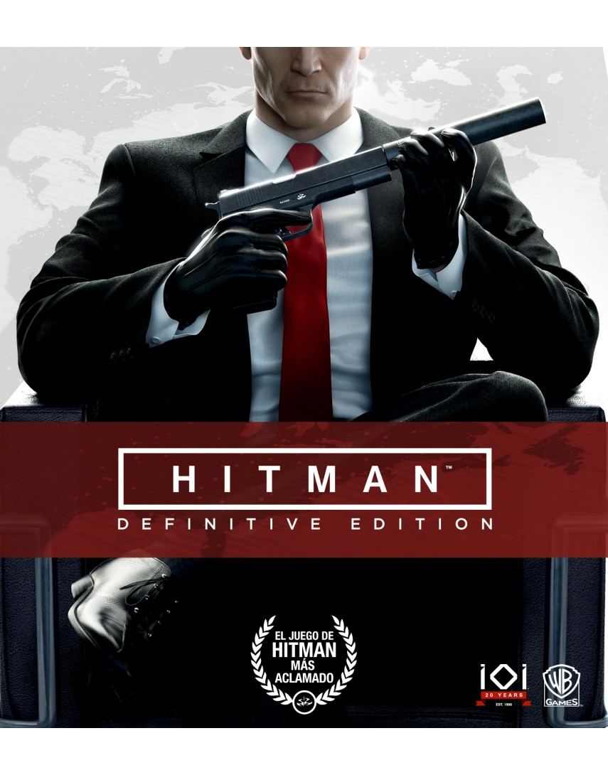 Hitman Definitive Edition [PS4] (Доп. Контент)