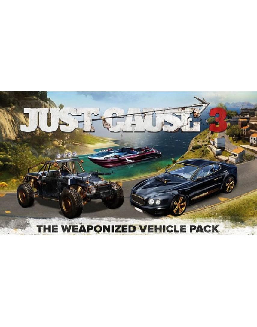 Just cause 3 Набор боевой транспорт [PS4] (Доп. Контент)