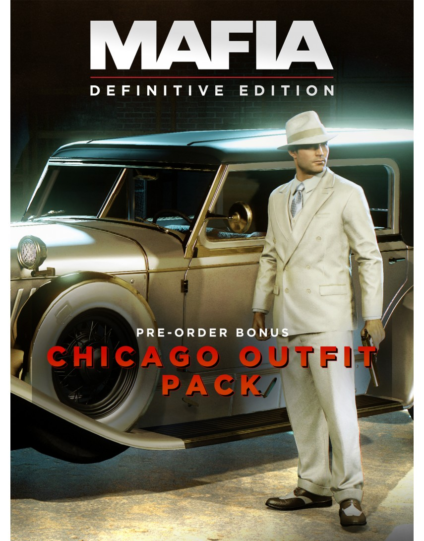 Mafia Definitive Edition Набор Chicago [PS4] (Доп. Контент)
