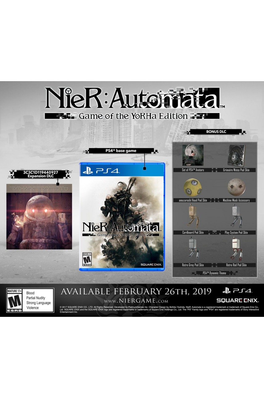 Nier Automata Game of the Yorha Edition [PS4] (Доп. Контент)
