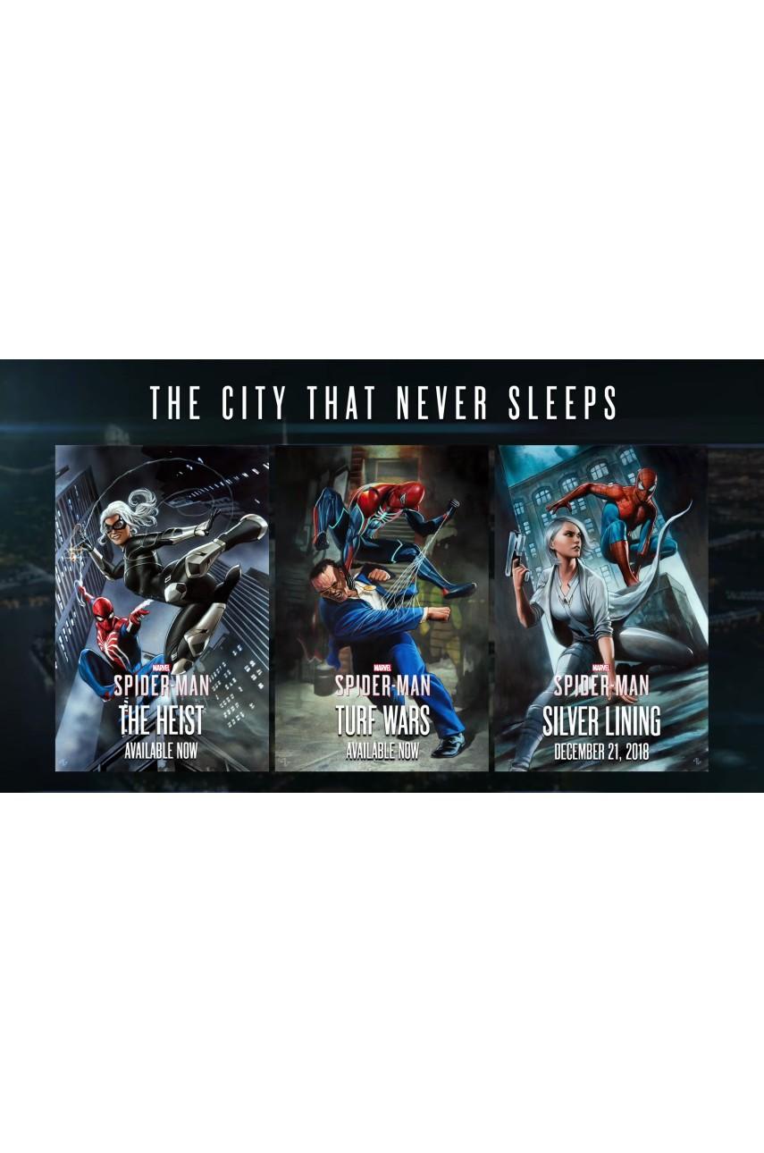 Marvel Человек паук Город, который не спит [PS4] (Доп. Контент)