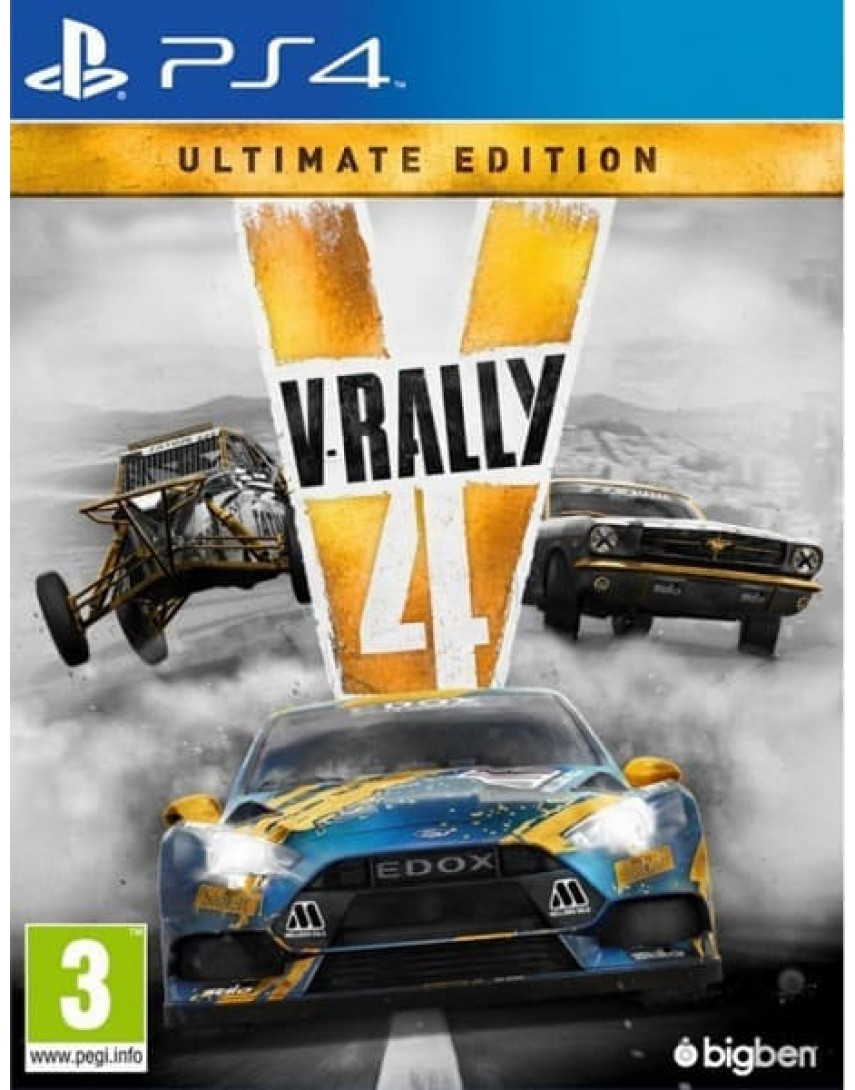 V-Rally 4 Ultimate Edition [PS4] (Доп. Контент)