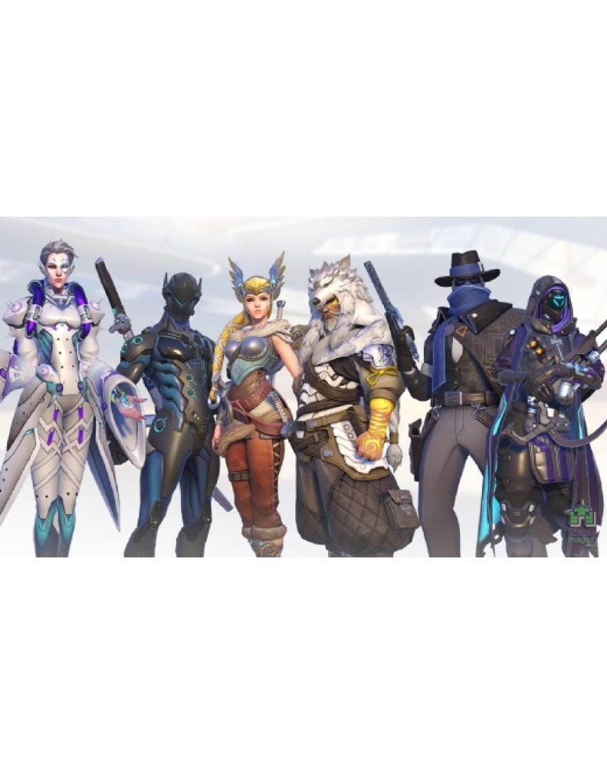 Overwatch 15 обликов [PS4] (Доп. Контент)