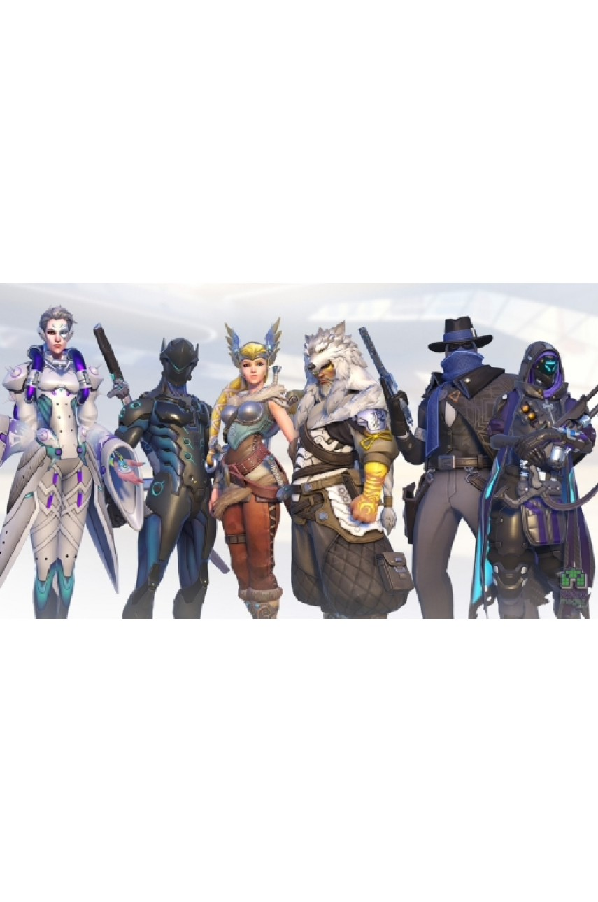 Overwatch 15 обликов (PS4) (Доп.контент)