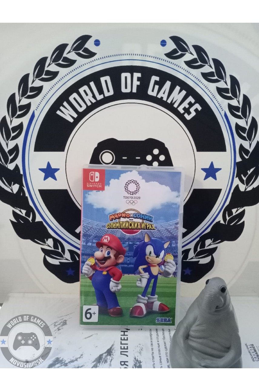 Mario & Sonic at the Olympic Games Tokyo 2020 [Nintendo Switch]