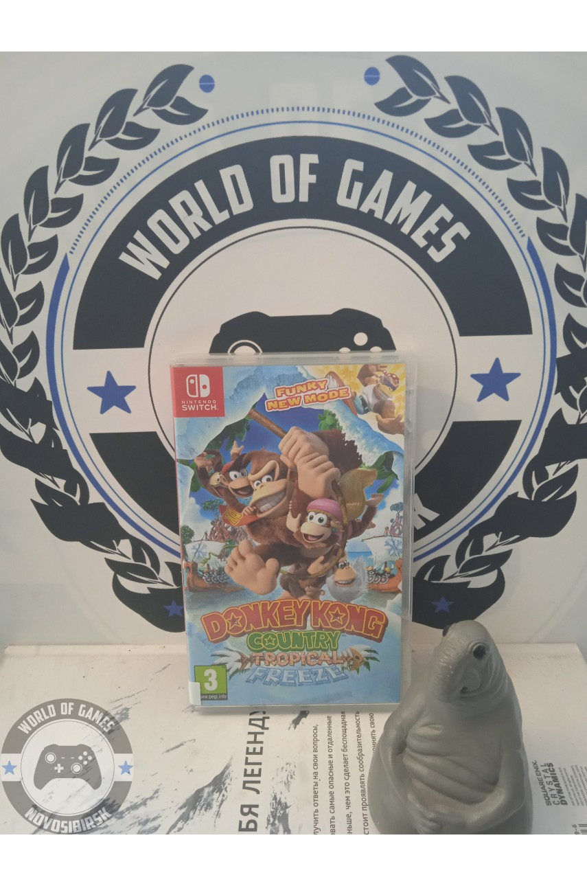 Donkey Kong Country Tropical Freeze [Nintendo Switch]