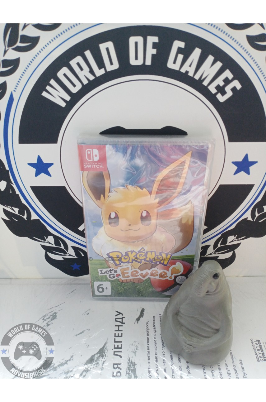 Pokemon Let's Go, Eevee! [Nintendo Switch]