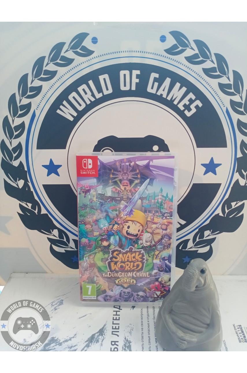 Snack World The Dungeon Crawl [Nintendo Switch]