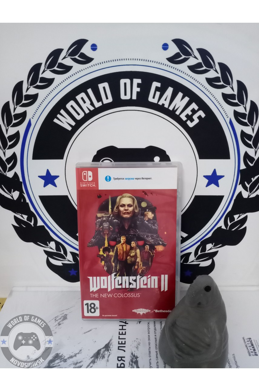 Wolfenstein 2 The New Colossus [Nintendo Switch]