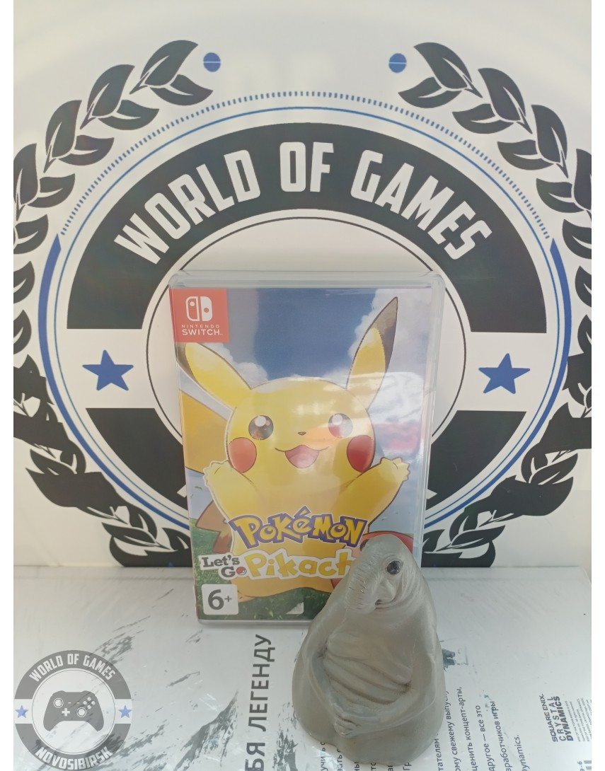Pokemon Let's Go Pikachu [Nintendo Switch]