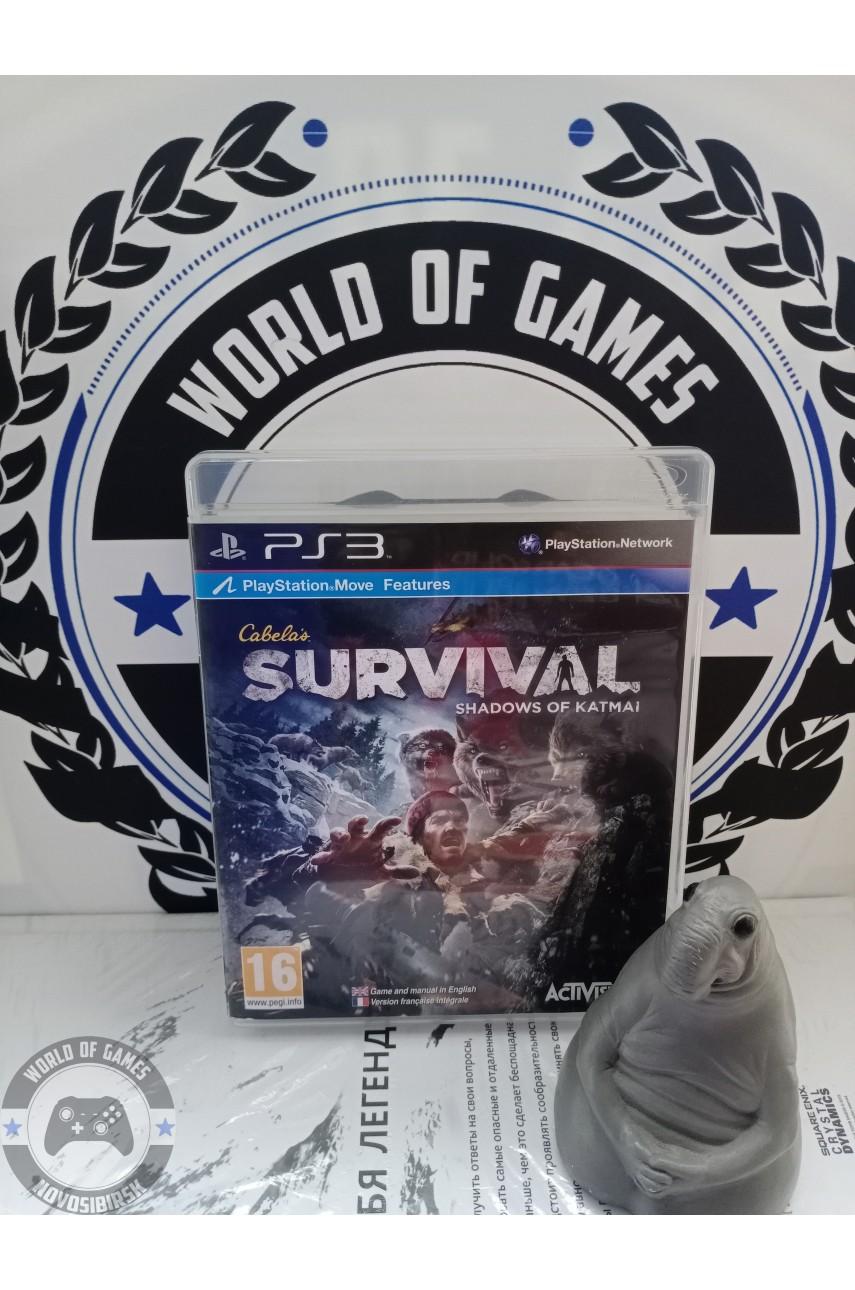 Cabela's Survival Shadows of Katmai [PS3]