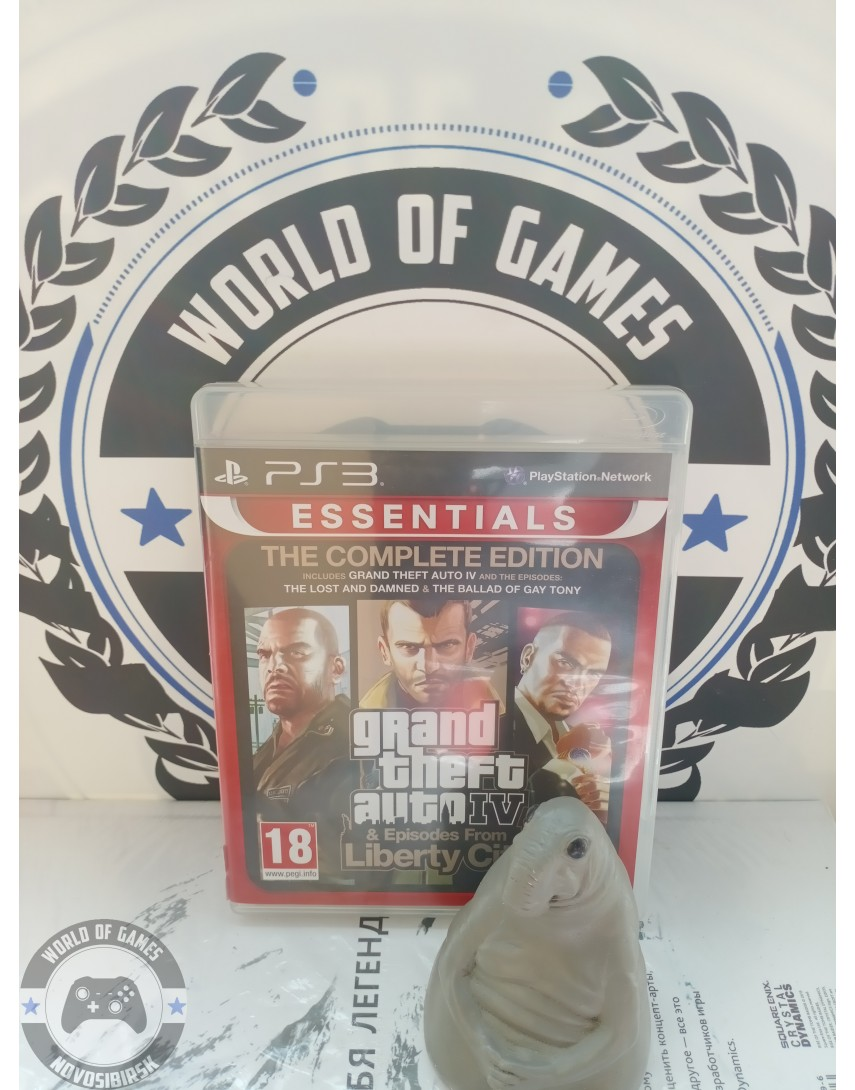 Grand Theft Auto 4 Complete Edition (GTA 4 Complete Edition) [PS3]