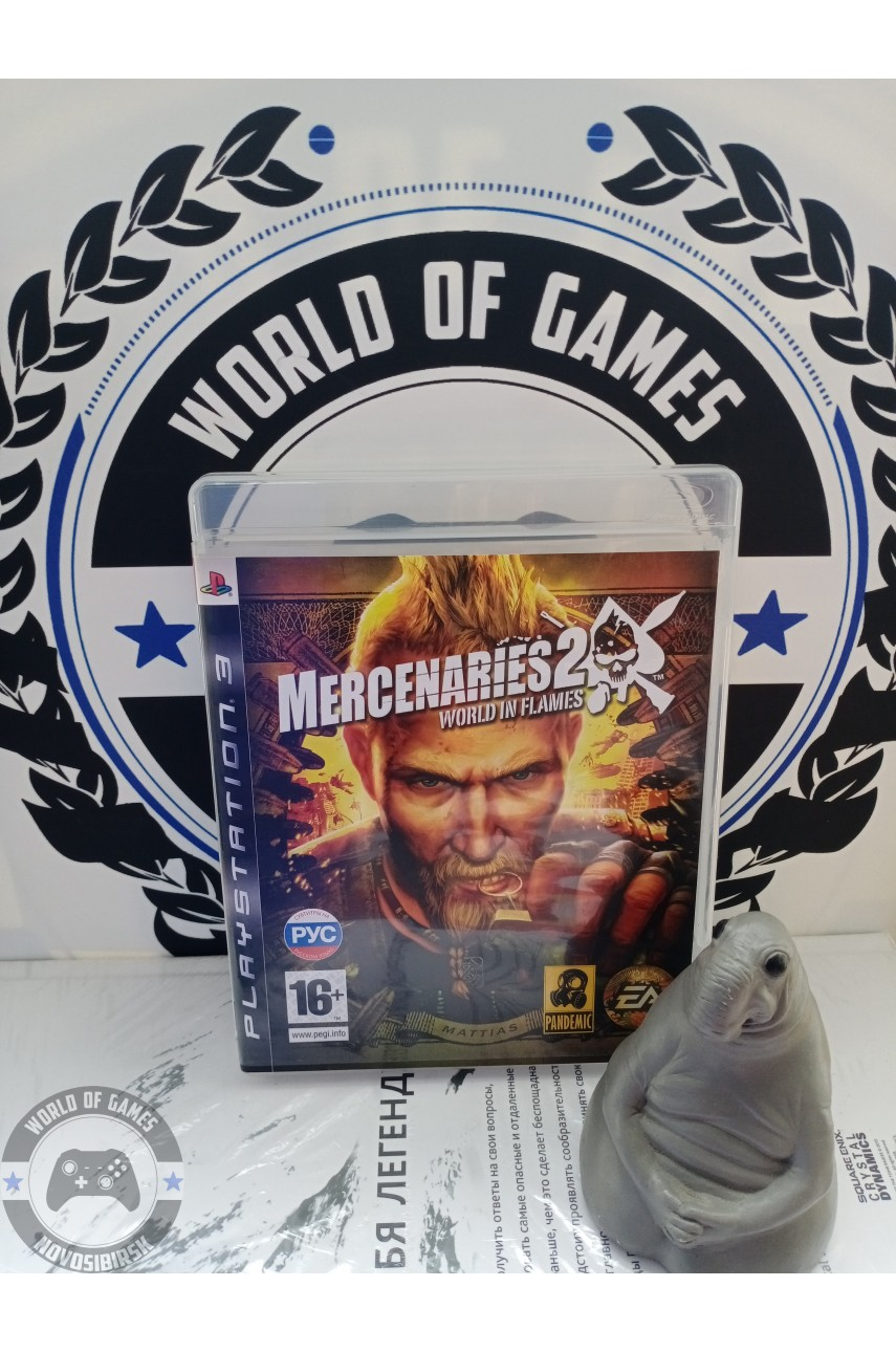 Mercenaries 2 World in flames [PS3]