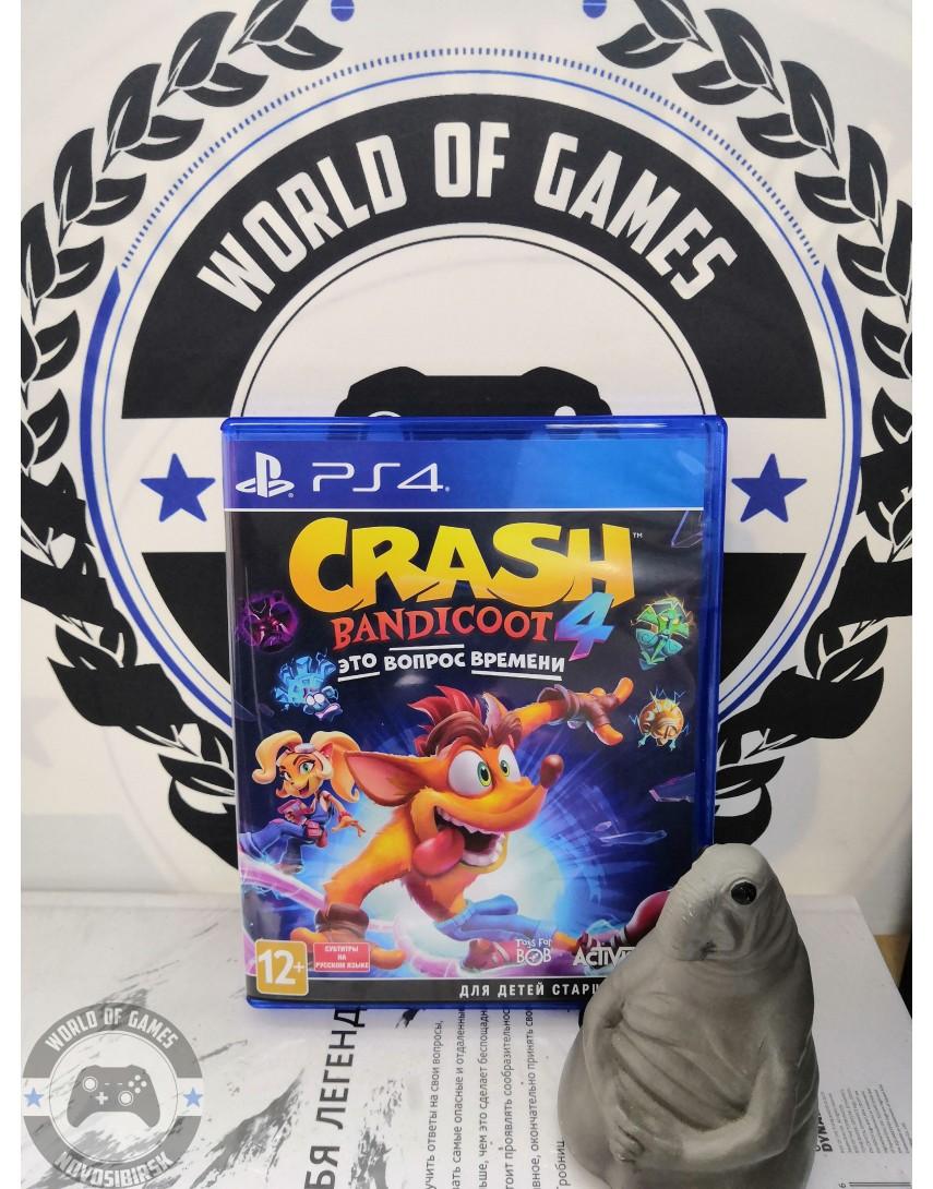 Купить Crash Bandicoot 4 It's About Time [PS4] в Новосибирске