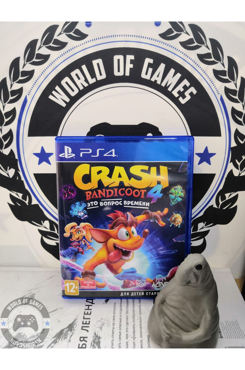 Crash Bandicoot 4 It's About Time [PS4]