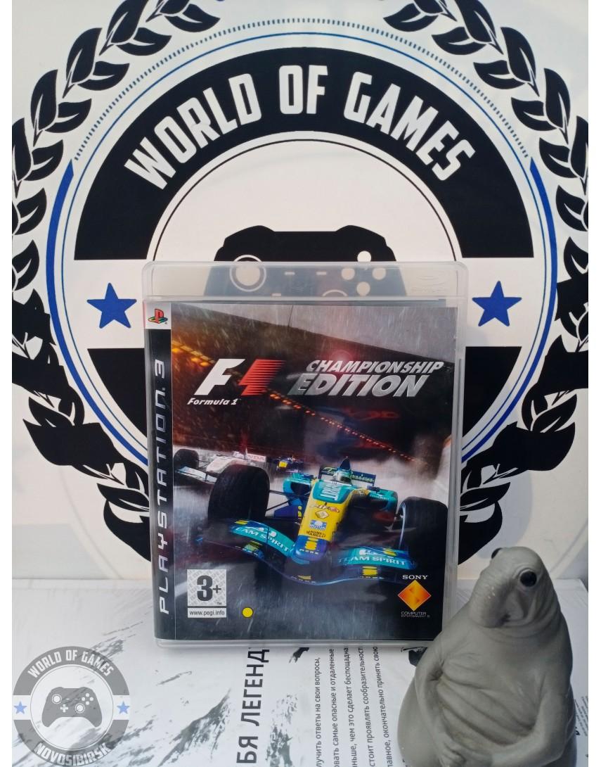 Formula One Championship Edition [PS3]