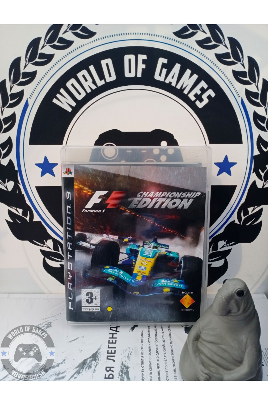 Formula One Championship Edition [PS3]
