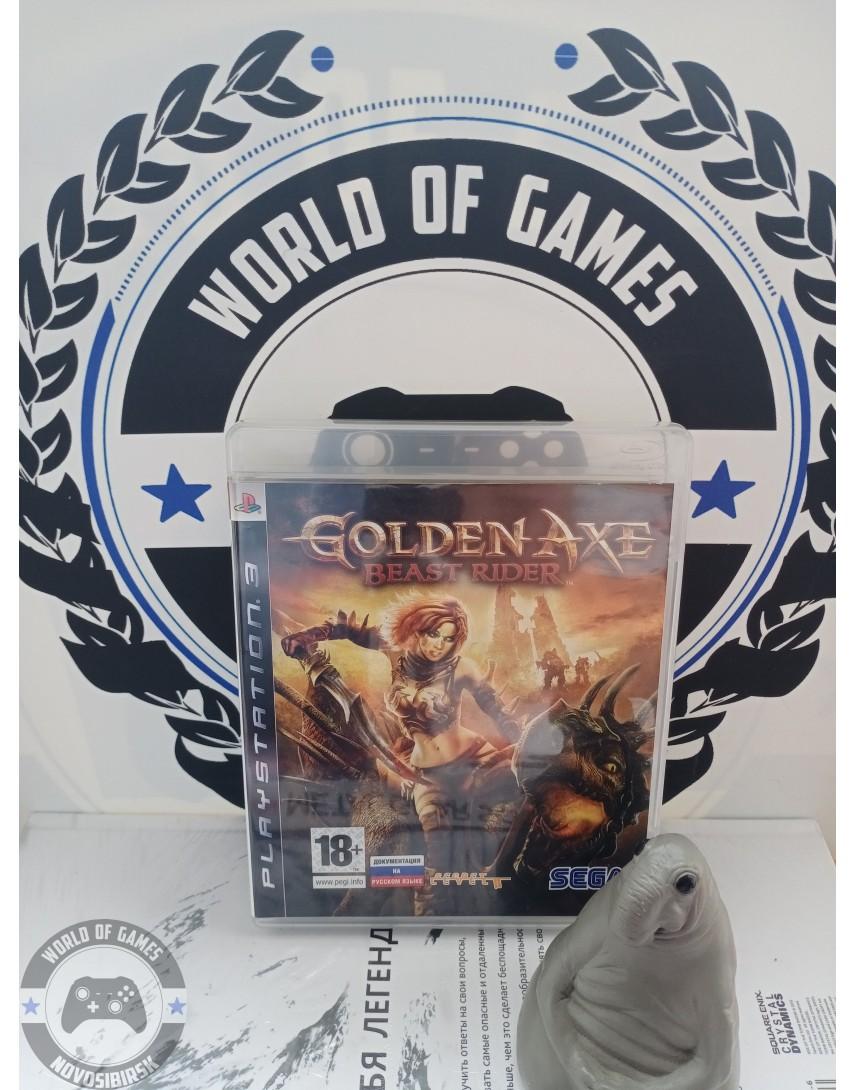Golden Axe Beast Rider [PS3]