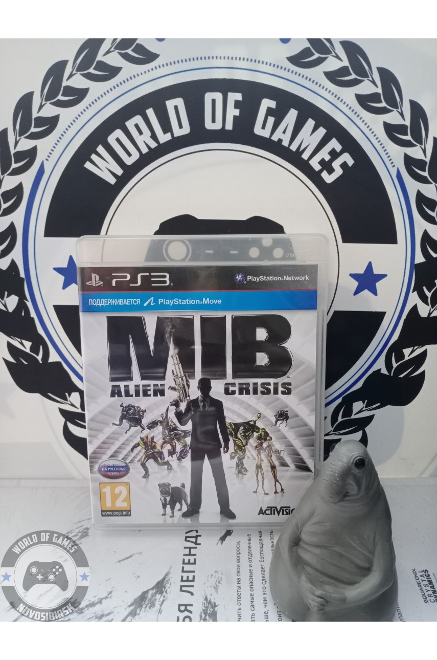 Man in Black Alien Crisis [PS3]