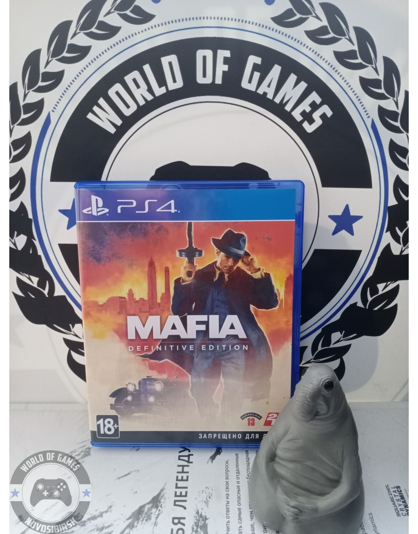 Купить Mafia Definitive Edition [PS4] в Новосибирске