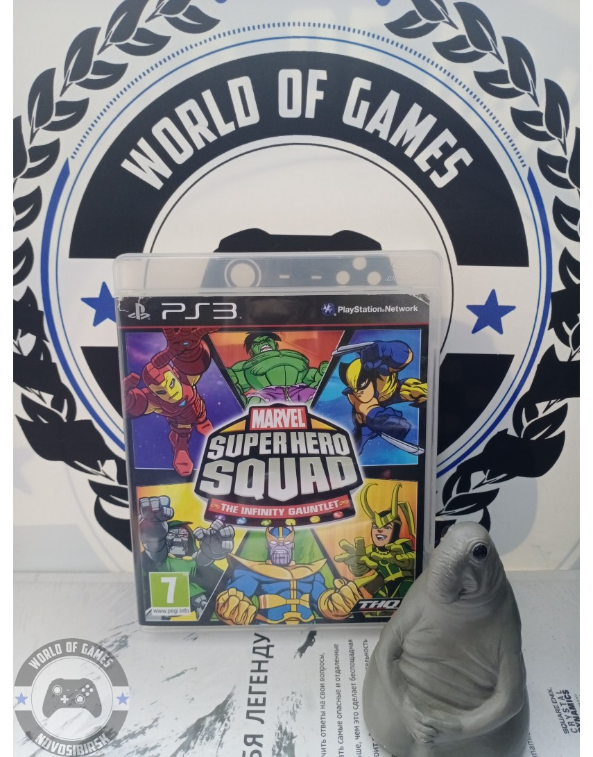 Marvel Super Hero Squad The Infinity Gauntlet [PS3]