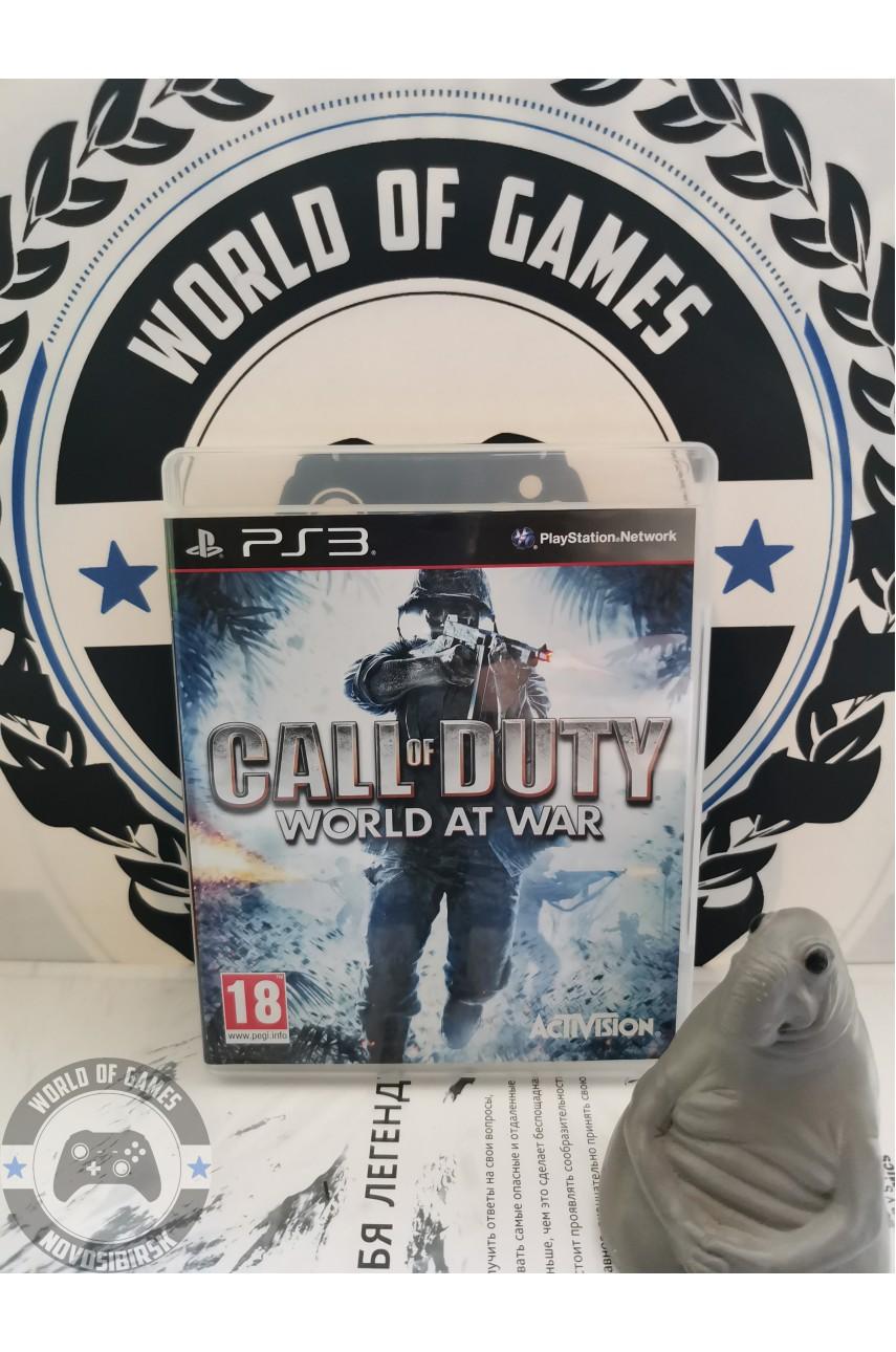 Call of Duty World at War [PS3]
