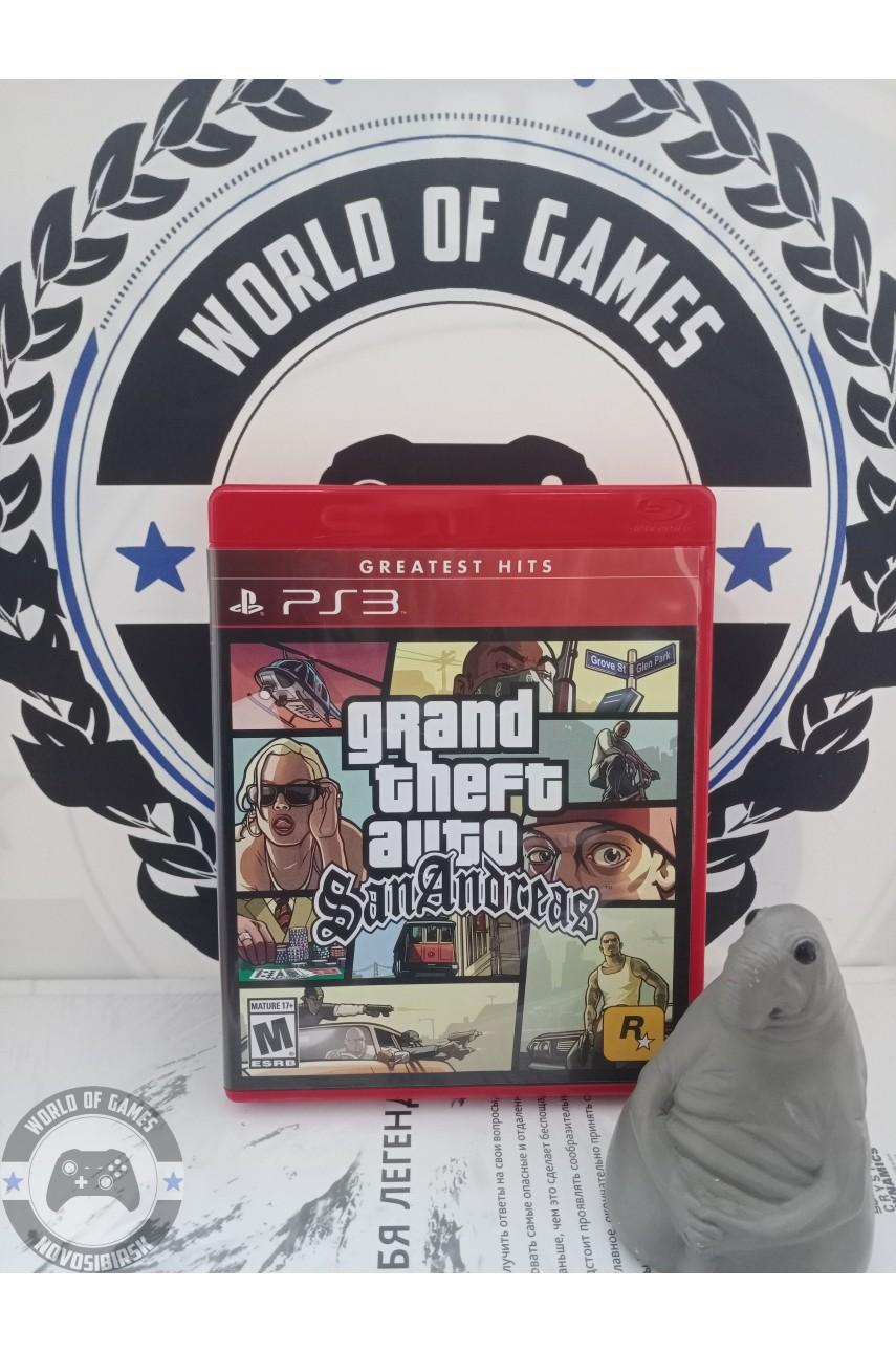 Grand Theft Auto San Andreas (GTA San Andreas) [PS3]