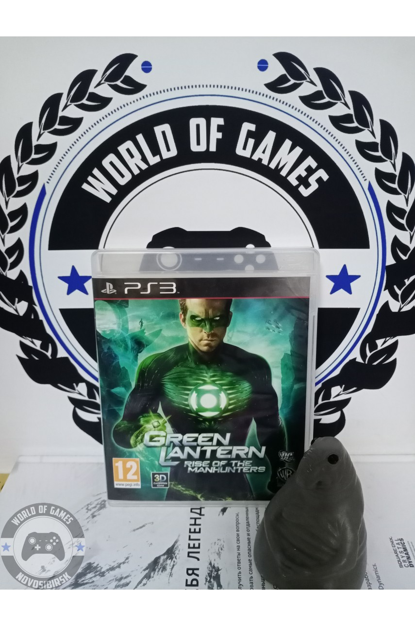 Green Lantern Rise of the Manhunters [PS3]