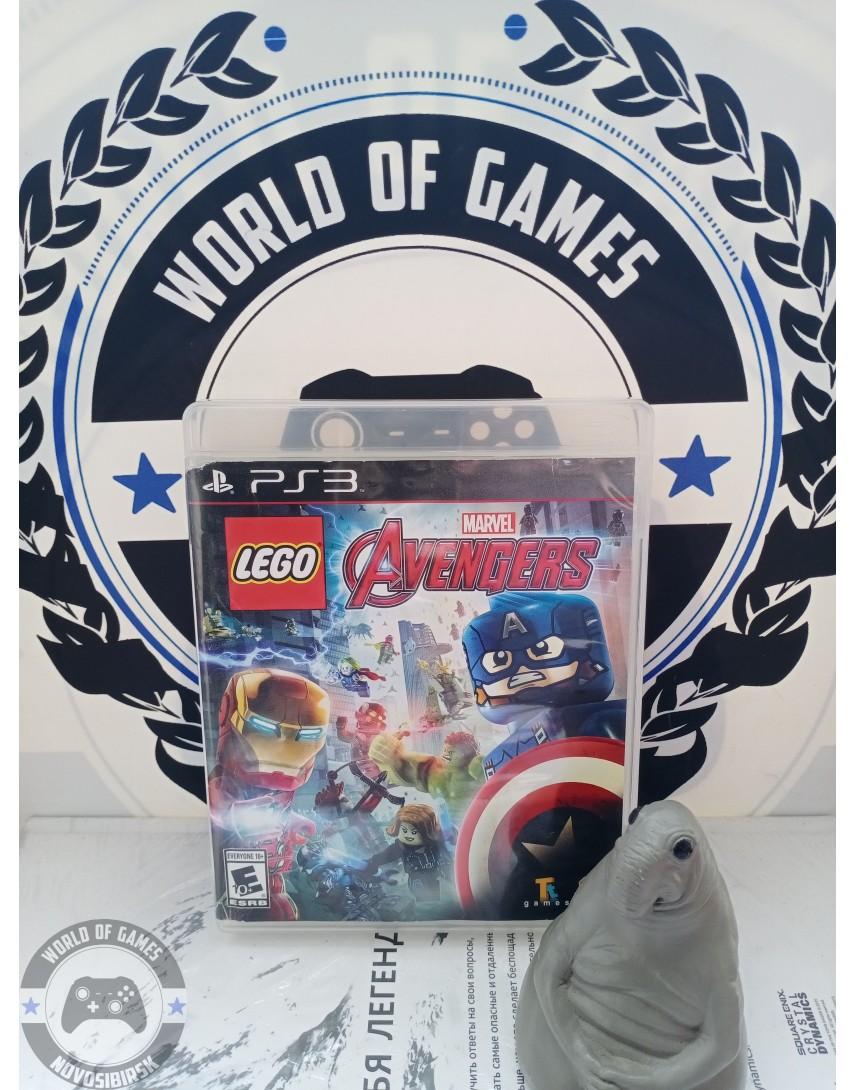 LEGO Marvel Мстители [PS3]