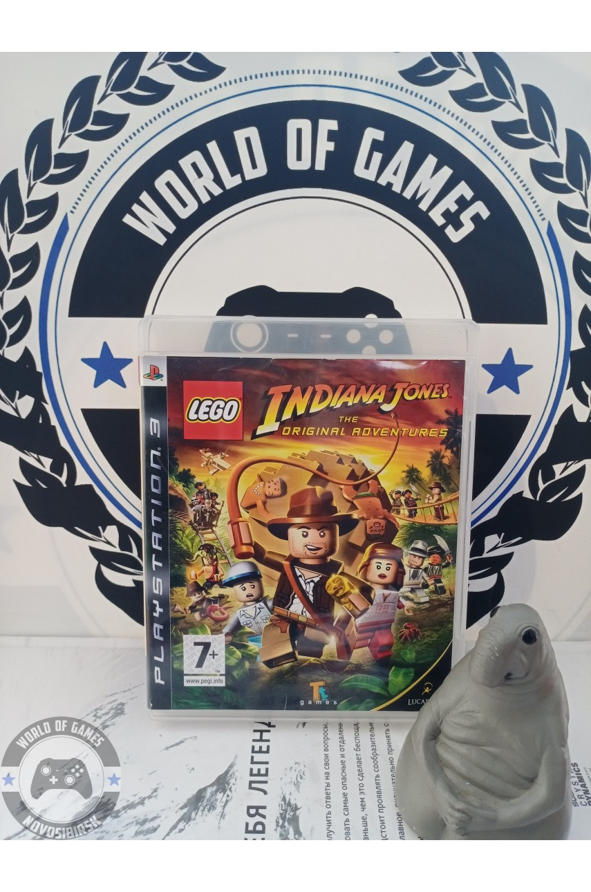 LEGO Indiana Jones The Original Adventures [PS3]