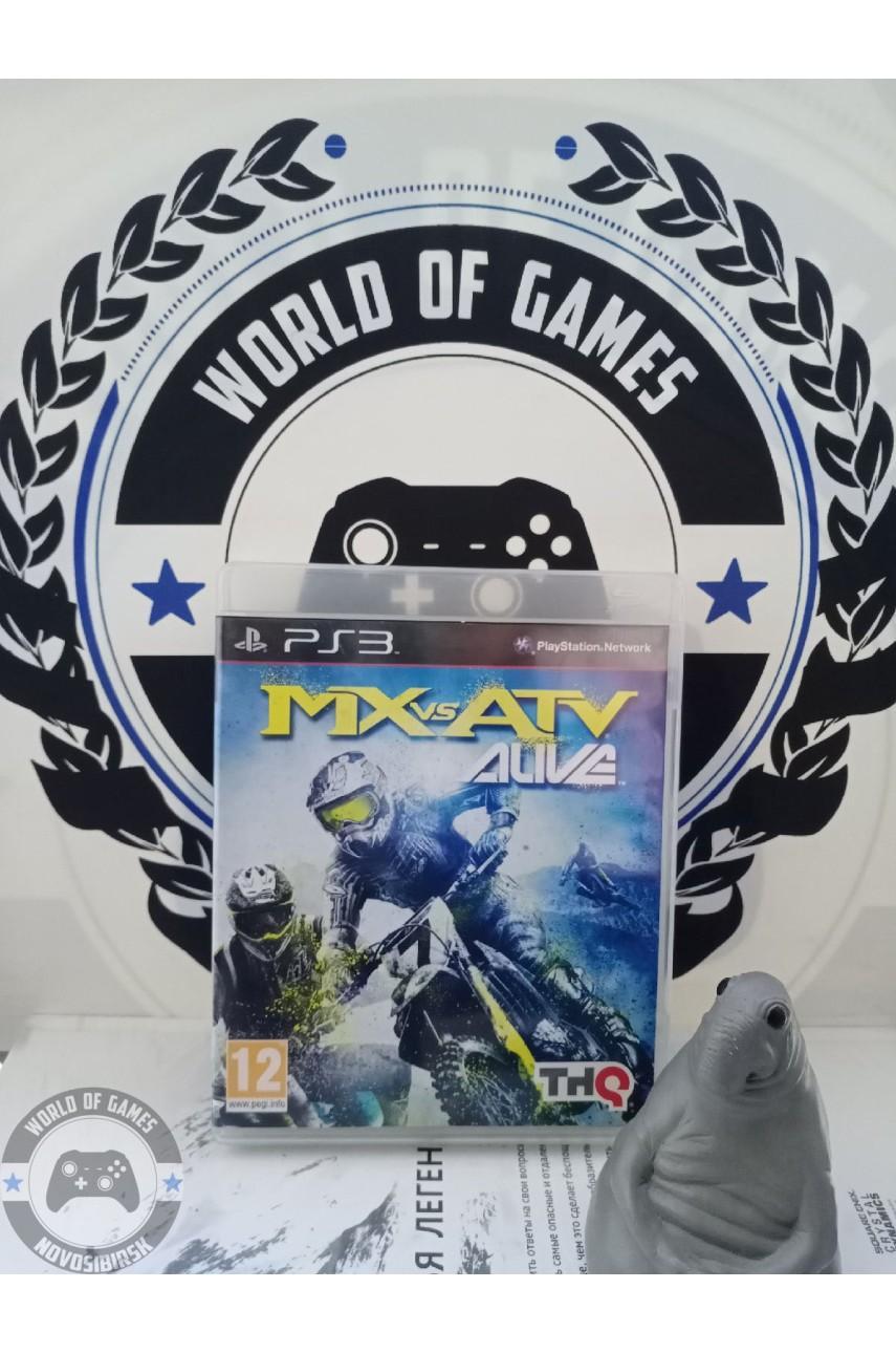MX vs ATV Alive [PS3]